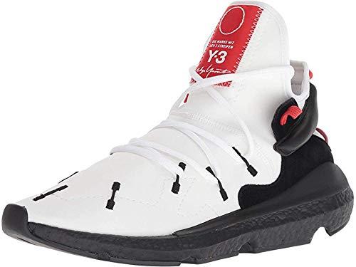 adidas Y-3 by Yohji Yamamoto Y-3 Kusari II Footwear White/Black Y-3/Lush Red UK 10.5 (US Men's 11, US Women's 12)
