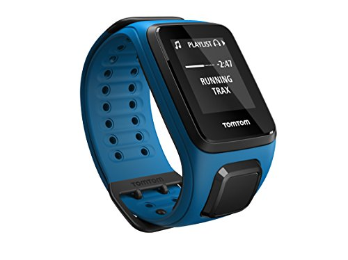 TomTom Spark Cardio + Music, GPS Fitness Watch + Heart Rate Monitor + 3GB Music Storage (Large, Shocking Blue)