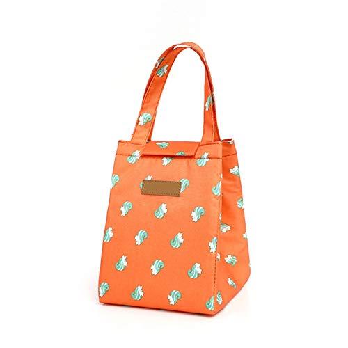 Bolsa del almuerzo, Bolso refrigerador Moda linda gato multicolor bolso femenino impermeable bolso cálido desayuno caja portátil picnic viajes para mujeres, adultos, estudiantes ( Color : TA12 1 40 )