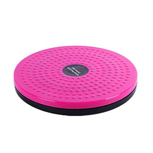 SIWEI Sports Fitness - Placa de cintura trenzada magnética, antideslizante, moldeadora de cuerpo, tabla de equilibrio, para el hogar, ejercicio de cintura corporal, masaje de pies, ZDDVKLT517LG2720E617ZS6V, rosa