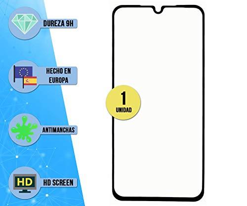 im77r 1 Unidad de Protector de Pantalla Premium 3D Cristal Templado Transparente 9H Compatible para Cubot R19 (Negro) Anti Arañazos Anti Golpes Facil Instalacion Vidrio Templado