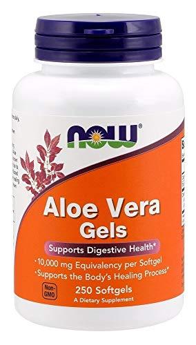 Now Foods Aloe Vera Gels, 10000 mg 250 Softgels Now Foods