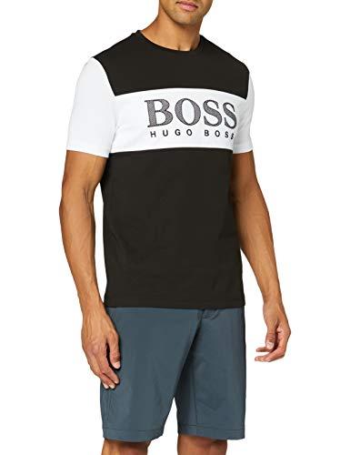 Photo of BOSS Men's Tee 6 T-Shirt, Black (Black 1), X-Large