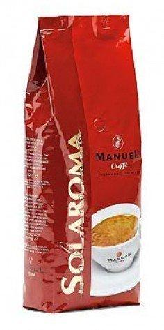 Manuel Caffe Solaroma - ganze Bohnen - 1 kg