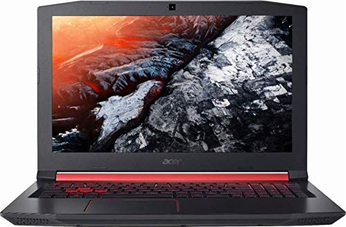 Acer Nitro 5 Gaming Laptop, Intel Core i5-8300H, GeForce GTX 1050Ti, 15.6' Full HD, 8GB DDR4, 256GB SSD with US Keyboard