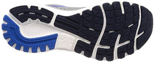 Brooks Mens Adrenaline GTS 20 Running Shoe - Grey/Blue/Navy - D - 9.5