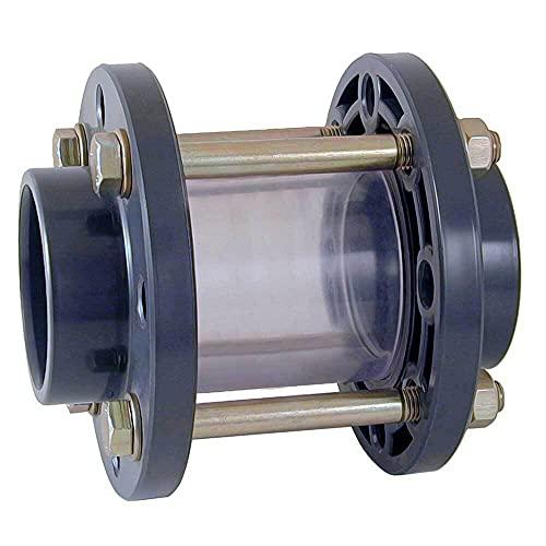 Schauglas mit PVC-Klebemuffen 50 mm