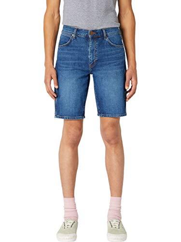 Wrangler 5 Pocket Short Pantalones Cortos, Azul (Game ON 12E), 58 (Talla del Fabricante: 34) para Hombre