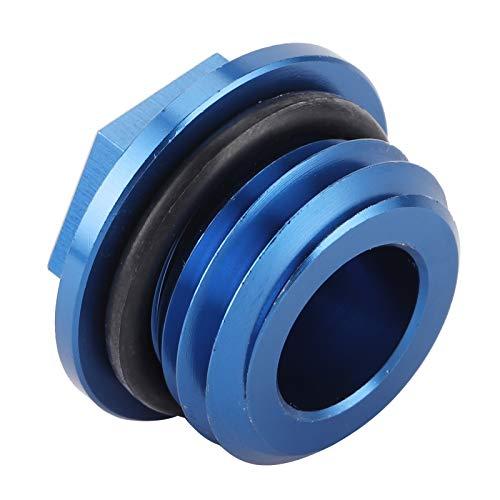 01 Cubierta del Tanque de Aceite, Cubierta de Tornillo de Aceite de Aluminio 6061 T6 Resistente y Duradera para TC 85 2014‑2015 para Husaberg TE 125‑300 2011‑2014(Blue)