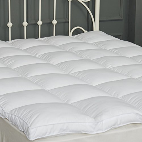 SUFUEE Mattress Topper Twin Size 2 inch Thick Down Alternative Quilted Mattress Cover Soft and Warm Mattress Pad for All Seasons