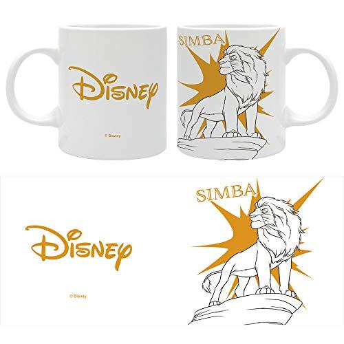 The Good Gift Disney Simba (Der König der Löwen) – Kollektion Pop – Tasse, 320 ml