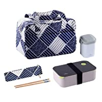 Japan style plastic bento boxes student office lunch box microwavable food containted with chopsticks 17 : 9