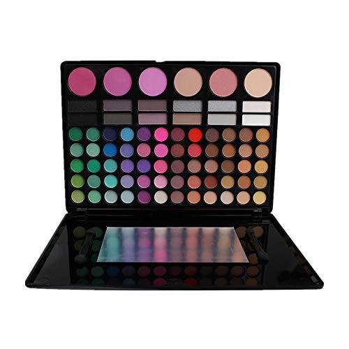 78 Colores Sombra De Ojos Paleta de Maquillaje Cosmética con Corrector y Rubor y Sombra De Ojos - Perfecto para Sso Profesional y Diario (Color 2)