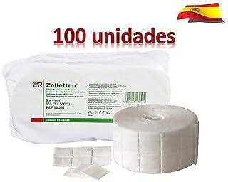 Toallitas de Celulosa - 100 UNIDADES = 12 CAPAS - Producto de estética - Blucc Style