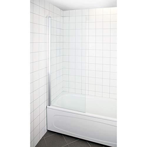 bauhaus duschvägg svängbar
