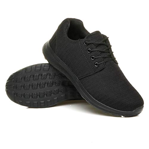Ajvani Mens lace up Casual Gym Running Fitness Sport Trainers Shoes...