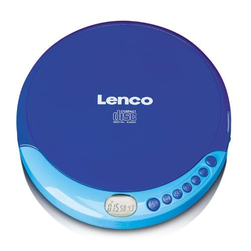 Lenco CD-011 - draagbare CD-speler Walkman - Diskman - CD Walkman