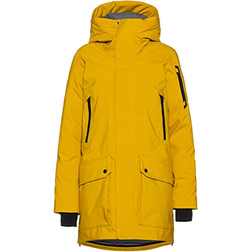 Peak Performance Damen Hyperpk Parka gelb S