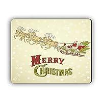 クリスマスギフトメリークリスマスラバーマット季節の装飾おしゃれスリップ防止マウスパッド
