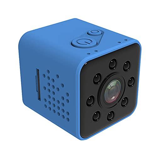 CHENPENG Mini cámara espía a Prueba de Agua HD 1080P WiFi cámara Oculta inalámbrica, cámara portátil a Prueba de Agua, con detección de Movimiento y visión Nocturna para Interiores/Exteriores,Azul