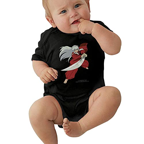 IUBBKI Inu-y-ASHA y Kagome Baby Jumpsuit Jersey Body Romper Crawling Onesie Pijamas