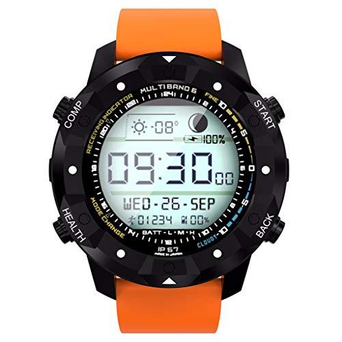 KLAYL KLAYL Intelligente Uhr S3 MTK658 Quad-Core-Android 5.1 Smart Watch Handy mit GPS WiFi 16G 1,3 GHz IP67 Smart Watch für iOS Android