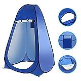 Laelr - Tenda da Toilette Pop-up, per la Privacy, Pieghevole e Portatile