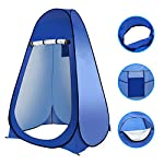 Laelr Pop up Toilet Tent, 4 Pack Shower Privacy Toilet Changing Room Changing Tent Foldable & Portable Beach Dressing… 8