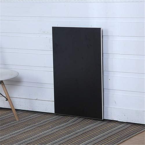 HONGHUIYU Wall-montierte Drop-Blatt-Tisch Falttabelle Computer-Schreibtisch Coffee Space Saver Fold schwarz,80cm40cm