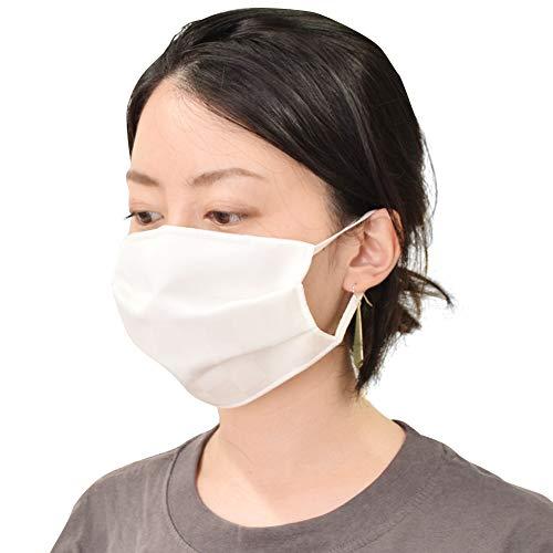 小杉織物 涼やか絹マスク