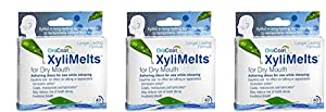 XyliMelts Discs for Dry Mouth 40 Mints (3 pack)