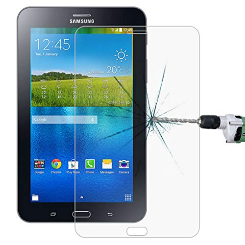 JIXIAO Boutique Accessories 0.3mm 9H Full Screen Tempered Glass Film for Galaxy Tab 4 Lite / T116 (Color : Color1)