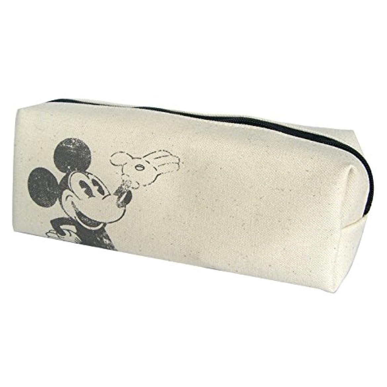全員入浴全員ディズニー ミッキーマウス コットンペンポーチ 約H7cm x W17cm x D5cm APDS1915R