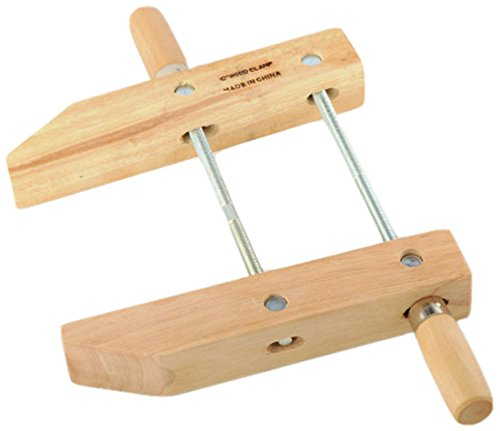 ATE Pro. USA 30143 Wood Handscrew Clamp, 10