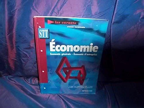 Les carnets économie, Terminale STT