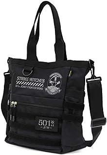 第501統合戦闘航空団 ストライクウィッチーズ ROAD to BERLIN 第501統合戦闘航空団 ファンクショナルトートバッグ/BLACK