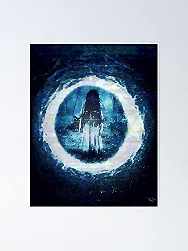 AZSTEEL Póster de The Ring Best Gift de 29,7 x 41,9 cm para amigos y familiares