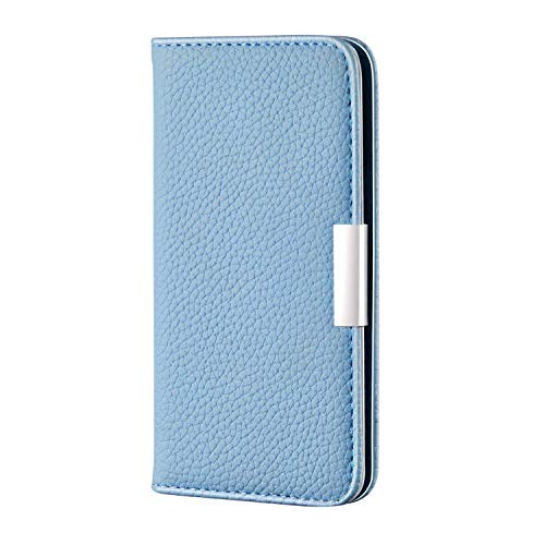 Galaxy A51 Case, The Grafu PU Leather Cover with Card Slot and Kickstand Function, TPU Inner Shell, Multifunctions Case for Samsung Galaxy A51, Blue