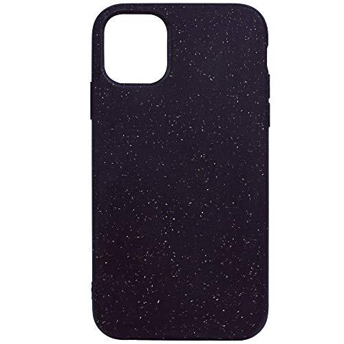 Naturfreund iPhone 11 Hülle   100% biologisch abbaubar   Umweltfreundliche Handyhülle in Schwarz   Bio Case Silikon- und Plastikfrei   Nachhaltige Schutzhülle für Apple iPhone 11   Zero Waste