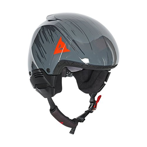 Dainese Adultos Casco GT Rapid-C EVO, otoño/Invierno, Unisex, Color Azul - Steel-Gray/Light-Red, tamaño XX-Small