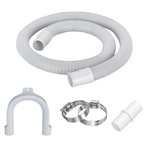 Ablaufschlauch für Waschmaschinen Verlängerung Zulaufschlauch für Spülmaschine Universal Ablaufgarnitur Schlauch Verlängerung Spül Geräteanschluss Für Waschmaschinen Geschirrspüler Klimaanlagen