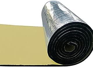 ETbotu 10mm Car Heat Sound Deadener Deadening Insulation Mat Waterproof and Moistureproof