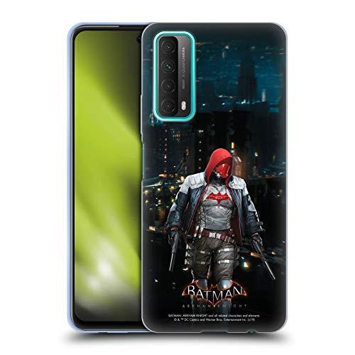 Head Case Designs Oficial Batman: Arkham Knight Capucha Roja Personajes Carcasa de Gel de Silicona Compatible con Huawei P Smart (2021)