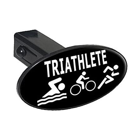 1.25 Graphics and More Triathlete Triathlon Swim Bike Run Tow Trailer Hitch Cover Plug Insert 1 1//4 inch