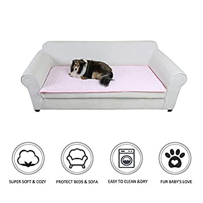 laamei Dog Bed Mat?Dog Crate Mat, Dog Kennel Pa...