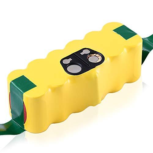 14.4V 4800mAh Ni-MH Batería de Repuesto para iRobot Roomba 500 600 700 800 880 510 530 545 550 552 560 570 580 581 582 585 595 620 630 631
