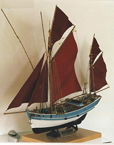 SIourso Maquetas Debarcos Kits De Barco De Pesca Clásico Francés St. Giltas...