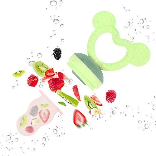 ZOSHING Silicone Alimentaire Frais, Nourrisseur de Fruit Nourrisseur Bébé...