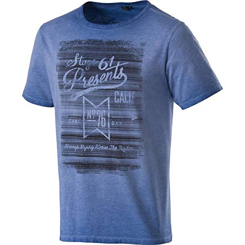 Firefly T- Shirt Emilio Homme, Denim, FR (Taille Fabricant : XL)