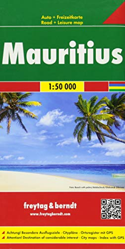 F&B Mauritius, Rodrigues: Toeristische wegenkaart 1:50 000
